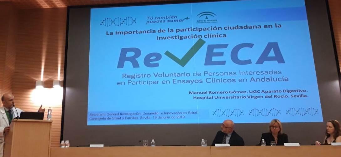 Registro voluntario de personas interesadas en participar en ensayos clínicos