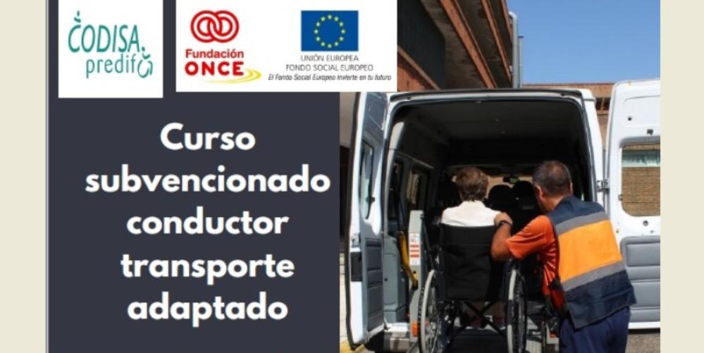 Nuevo curso: Conductor de transporte adaptado